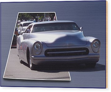 Just Cruising Wood Print by Thomas Woolworth