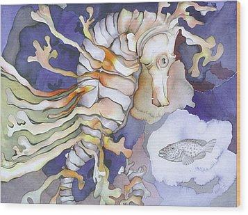 Just Dreaming Too Wood Print by Liduine Bekman