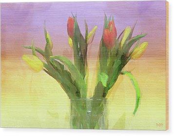 Just Like Spring Wood Print by Declan O'Doherty