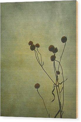 Just Weeds . . . Wood Print