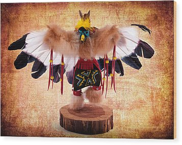 Kachina Doll No 402 Wood Print
