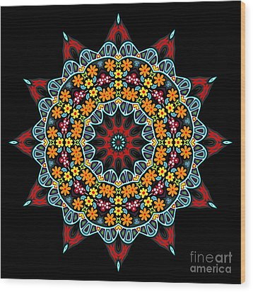 Wood Print featuring the digital art Kali Kato - 12 by Aimelle