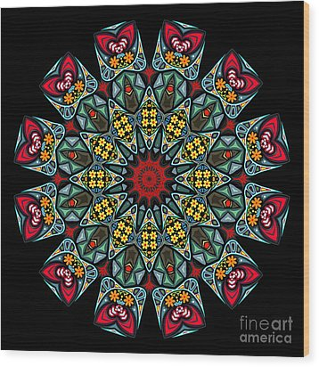 Wood Print featuring the digital art Kali Katp - 10 by Aimelle
