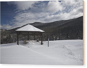 Kancamagus Highway - White Mountains New Hampshire Wood Print by Erin Paul Donovan