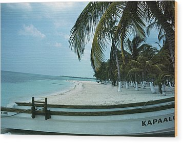 Kapallo Wood Print