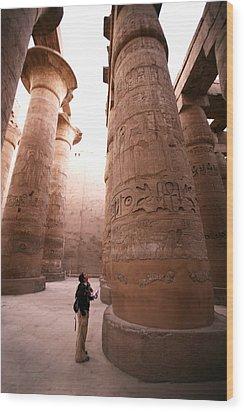 Karnak Temple Wood Print