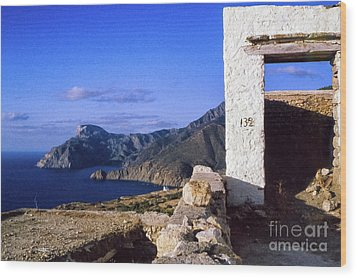Wood Print featuring the photograph Karpathos Island Greece by Silvia Ganora