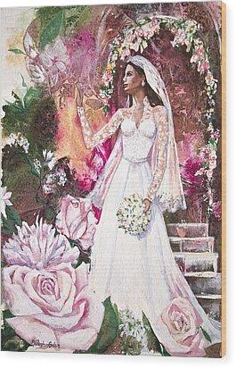 Kate The Princess Bride Wood Print by Patricia Allingham Carlson
