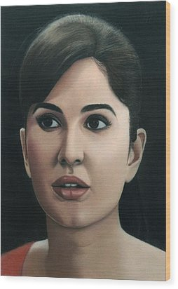 Katrina Kaif Wood Print