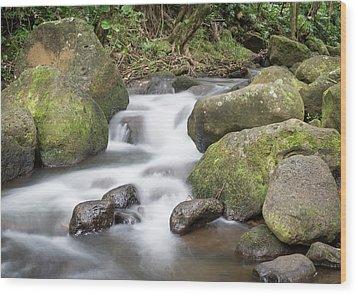 Kauai Flow Wood Print