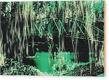 Wood Print featuring the photograph Kayaking At Bothell Washington by Eddie Eastwood