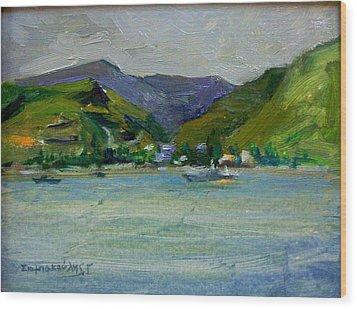 Kea Wood Print by George Siaba