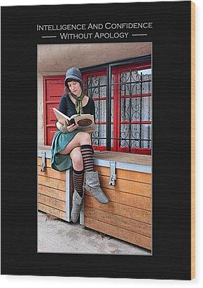 Kellie Peach 2-45 Wood Print