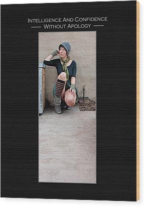 Kellie Peach 3-52 Wood Print