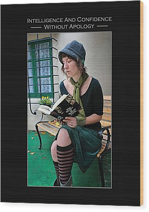 Kellie Peach 5-69 Wood Print