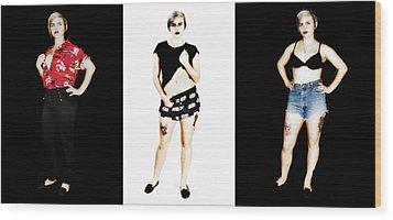 Kelsey 4 Wood Print
