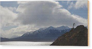 Kenai Peninsula Wood Print
