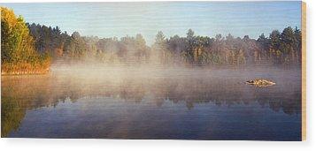 Kennedy Pond Wood Print by Frank Winters