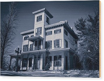 Kennedy-supplee Mansion Wood Print