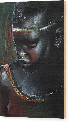 Kenya Beauty Wood Print