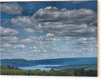 Keuka Landscape Iv Wood Print