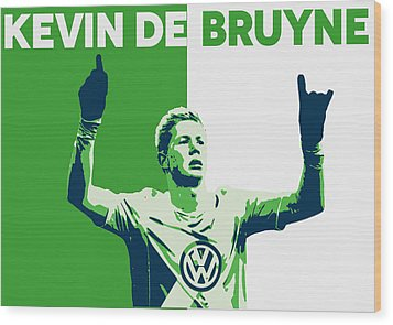 Kevin De Bruyne Wood Print