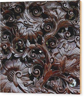 Kew London England 99 Wood Print by Per Lidvall