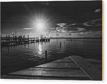 Key Largo Wood Print by Kevin Cable