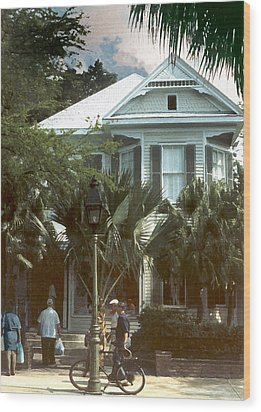 Wood Print featuring the photograph Keywest by Steve Karol