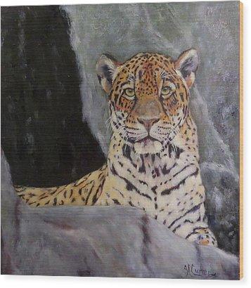 Khensu,  Jaguar Wood Print