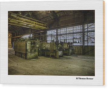 Kilns Wood Print by R Thomas Berner