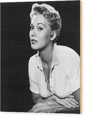 Kim Novak,1956 Wood Print by Everett