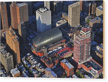 Kimmel Center For The Performing Arts 260 South Broad Street Suite 901 Philadelphia Pa 19102 Wood Print by Duncan Pearson