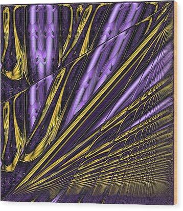 Kinesis Wood Print by Wendy J St Christopher