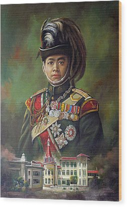 King Mongkut Wood Print