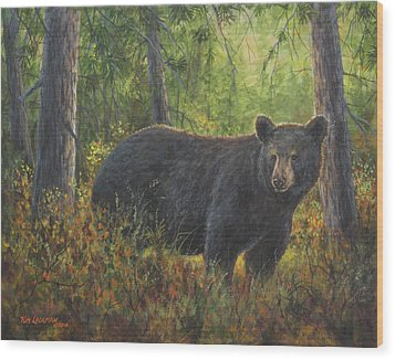 King Of His Domain Wood Print