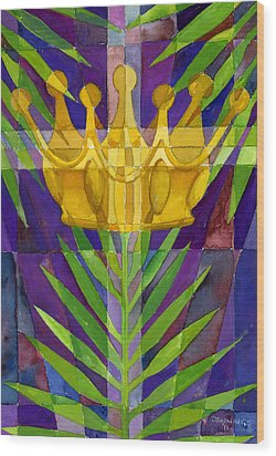King Of Kings Wood Print by Mark Jennings