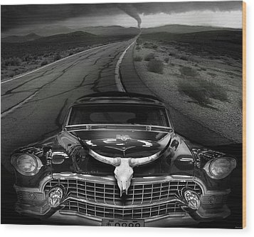 King Of The Highway Wood Print by Larry Butterworth