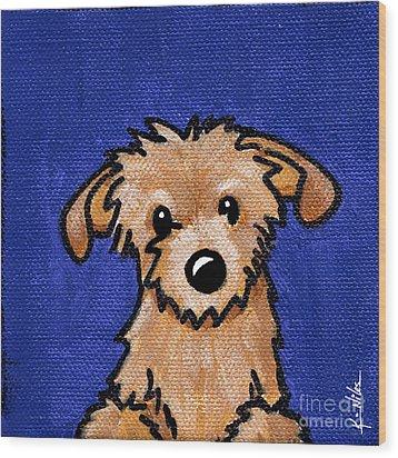 Kiniart Portrait Bingo Wood Print
