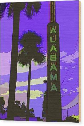 Kirby And Alabama Wood Print by Derick Van Ness