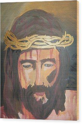 Kiss Of Judas Wood Print by Demetria Kelley