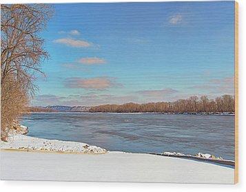 Klondike Park Boat Ramp Wood Print