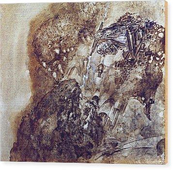 Knight 2 Wood Print by Valeriy Mavlo
