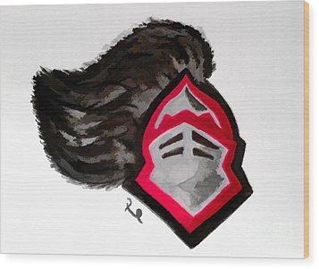 Knights Wood Print