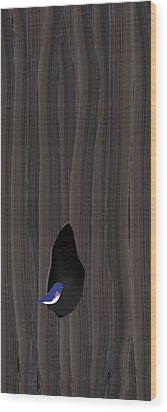 Knot Dweller Wood Print