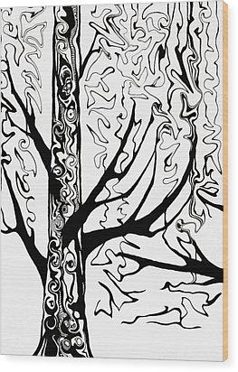 Knots Wood Print