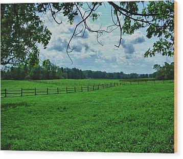 Knox Farm 1786 Wood Print