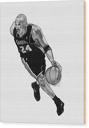 Kobe Wood Print by Ben Henderson