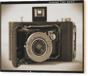 Kodak Diomatic Wood Print by Mike McGlothlen