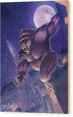 Kong Wood Print by Ken Meyer jr